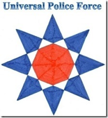Universal Police Force Star Logo 21 - Resized to 60%